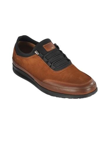 Ayakmod 703 Nubuk-Taba Erkek Günlük Hakiki Deri Ayakkabı Taba